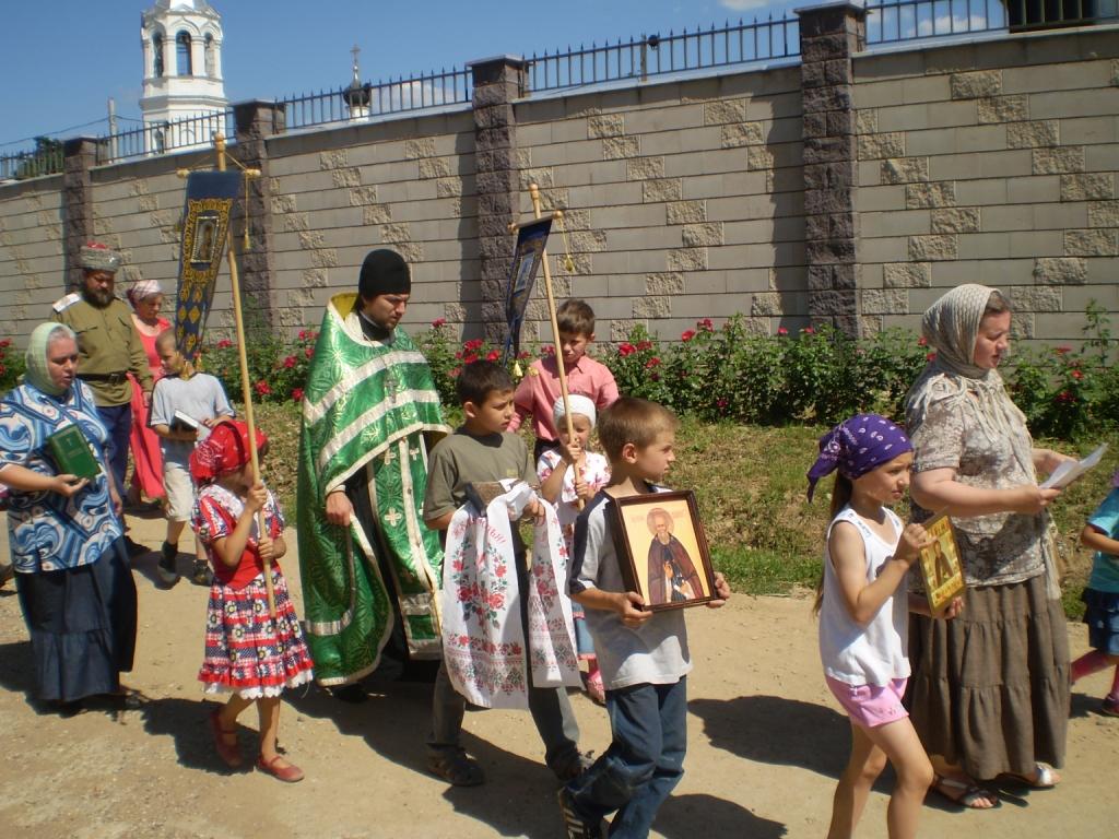 Праздник 700-летия преп. Сергия Радонежского в нашем храме