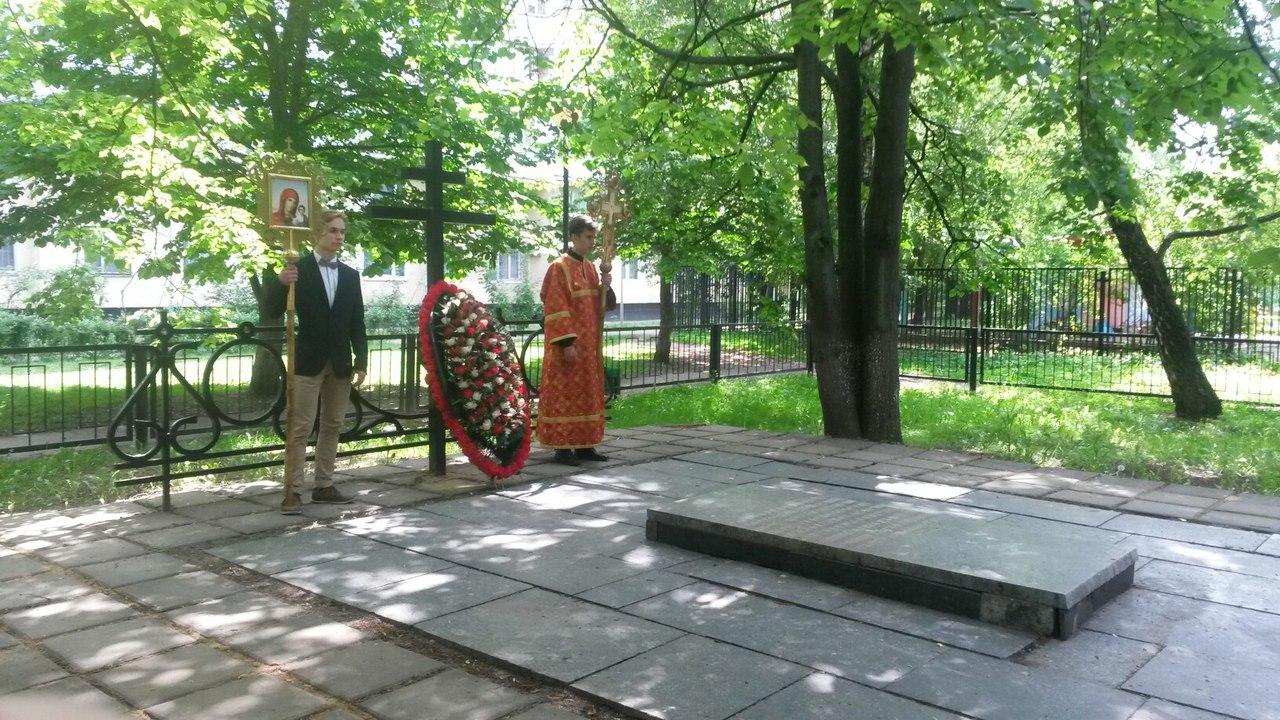 Молебны в часовне вмч. Георгия Победоносца