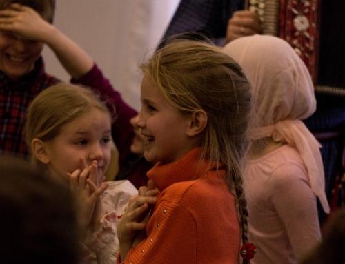 Рождественская вечерка для учеников воскресной школы