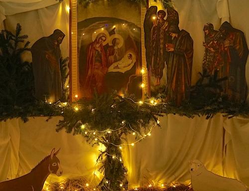 Ночная служба на Рождество Христово