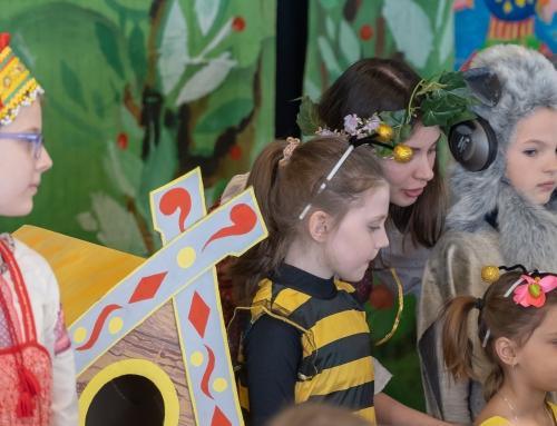 Пасхальный детский праздник Воскресной школы