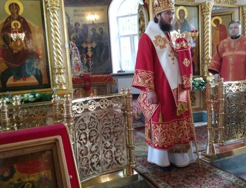 Архиерейская служба в день памяти святого пророка Божия Илии