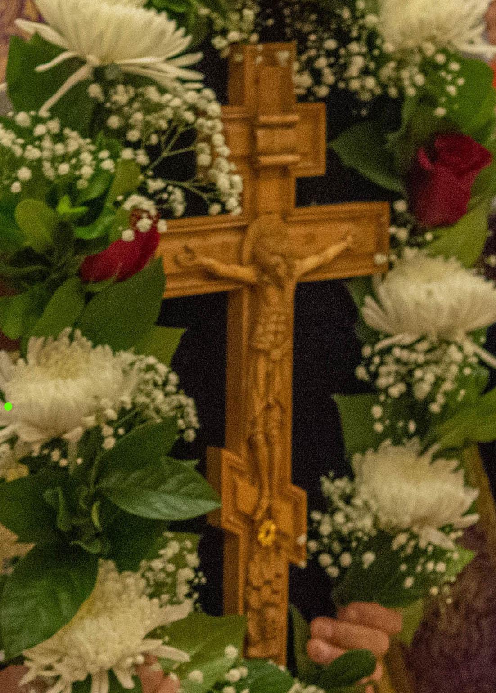 Всенощное бдение на праздник Воздвижения Креста Господня